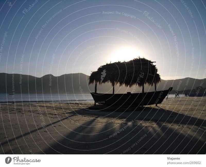 BRA 2012 - Lieblingsstrand Glück harmonisch Wohlgefühl Erholung Ferien & Urlaub & Reisen Tourismus Ferne Sommer Sonne Strand Meer Sand Wasser Wolkenloser Himmel