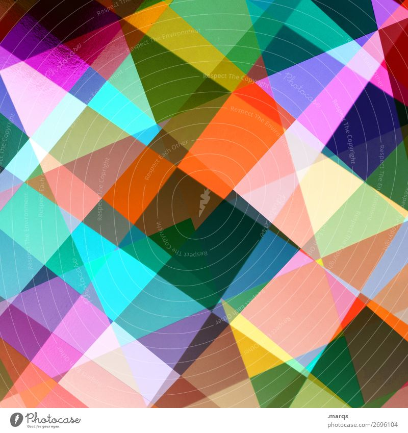 Mix Lifestyle elegant Stil Linie Rechteck Mosaik außergewöhnlich Coolness trendy einzigartig modern verrückt mehrfarbig Farbe Doppelbelichtung Raster Geometrie