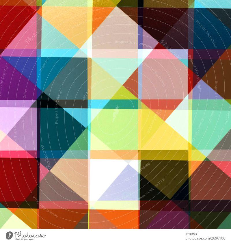 Tapete Farbe Hintergrundbild Lifestyle Stil außergewöhnlich Design modern elegant Ordnung verrückt einzigartig Coolness Grafik u. Illustration viele trendy