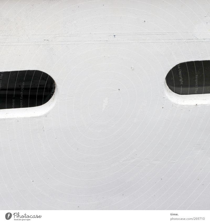 misstrauisch schwarz Fenster Metall Wasserfahrzeug Sicherheit Schifffahrt skurril Stahl Erwartung Lack Entschlossenheit maritim Öffnung Misstrauen lackiert Luke