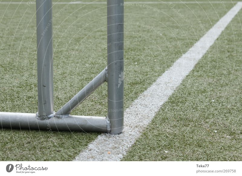 Fußballlinientor Freizeit & Hobby Spielen Sport Fitness Sport-Training Ballsport Sportveranstaltung Erfolg Sportstätten Fußballplatz Stadion Platz