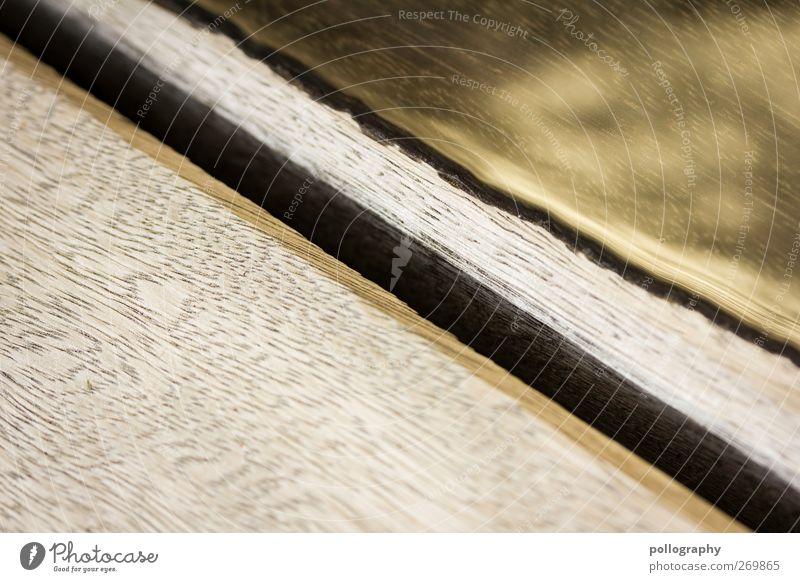 Wasser ist goldwert Sommer schwarz gelb Holz Wege & Pfade braun Beleuchtung Gold Ecke Schönes Wetter Loch Riss Holzbrett Holzfußboden