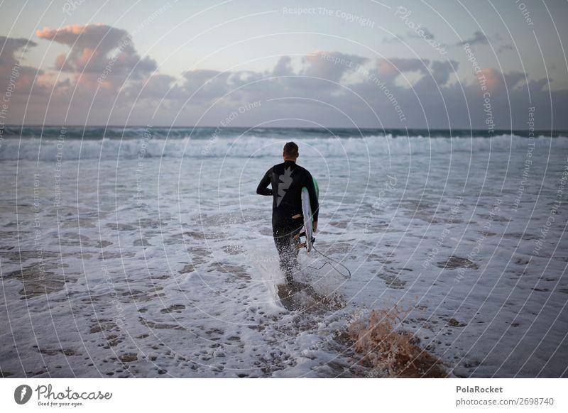 #AS# GAME ON Lifestyle elegant Freizeit & Hobby ästhetisch Surfen Surfer Surfbrett Surfschule laufen Extremsport Wassersport Aktion sportlich Meer Meerwasser