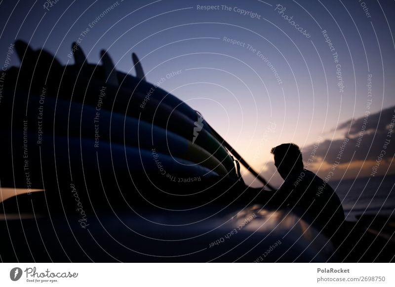 #AS# going home Jugendliche Lifestyle Freiheit ästhetisch Idylle Romantik Surfen Surfer Surfbrett Surfschule
