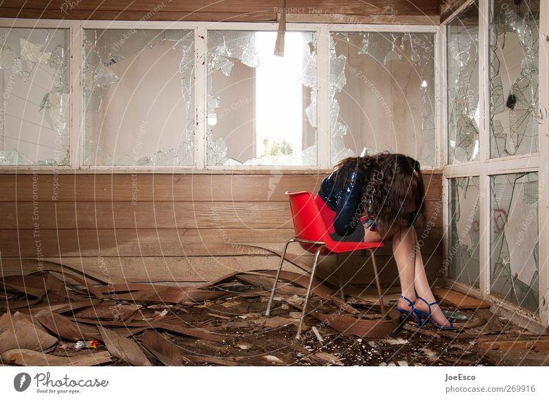 #269916 schön Stuhl Raum Frau Erwachsene Mensch Ruine Fenster Mode Denken Erholung festhalten sitzen träumen Traurigkeit weinen dunkel einzigartig kalt