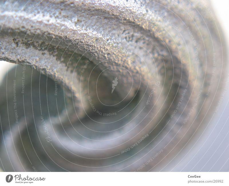 Silberwellen grau Metall glänzend Tür rund Häusliches Leben Griff rustikal Tragegriff Wellenform