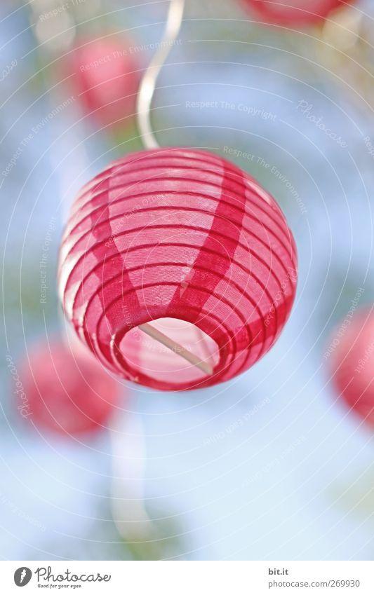 kugellich (t) Himmel blau oben Luft Lampe Beleuchtung Feste & Feiern rosa Klima Fröhlichkeit Elektrizität Häusliches Leben Dekoration & Verzierung Lifestyle