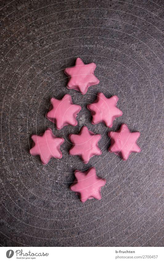 Weihnachtsbaum aus Punschsternen Weihnachten & Advent Essen Hintergrundbild Liebe rosa Dekoration & Verzierung frisch liegen genießen lecker weich