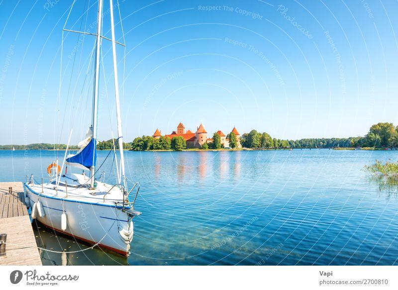 Himmel Ferien & Urlaub & Reisen Natur Sommer blau Stadt schön grün Wasser weiß Landschaft rot Baum Architektur Lifestyle Herbst