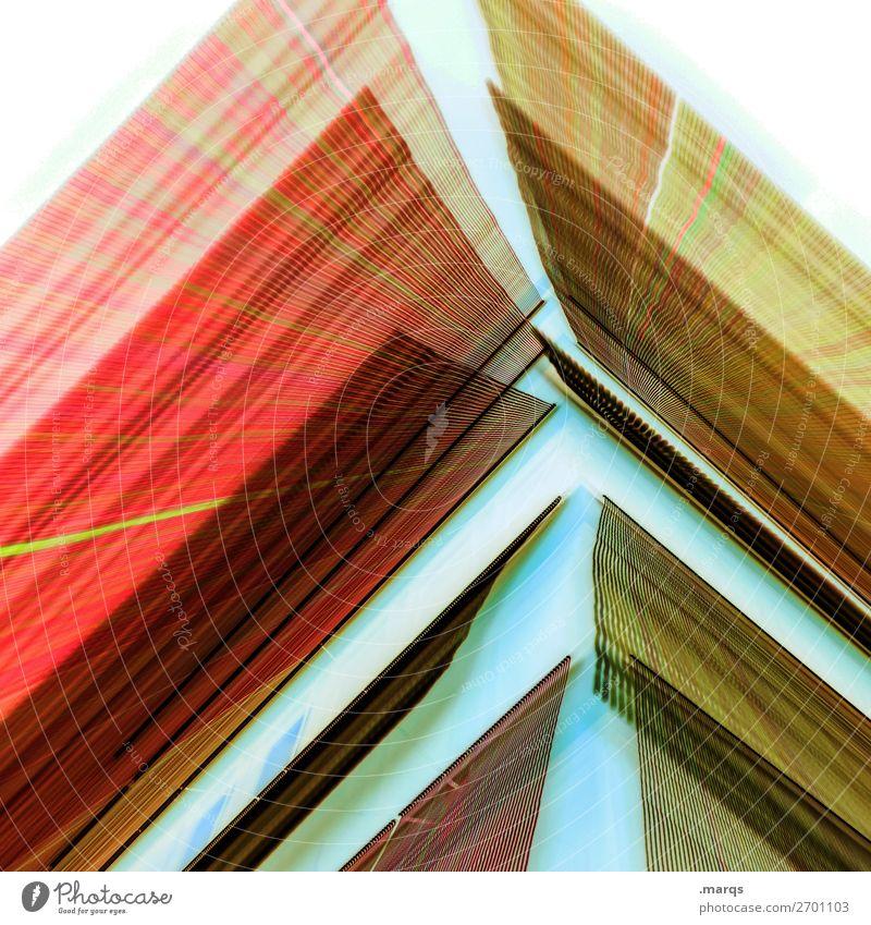 Out of space Farbe weiß rot Lifestyle gelb Feste & Feiern außergewöhnlich Party orange Design leuchten modern Perspektive Zukunft Veranstaltung Euphorie