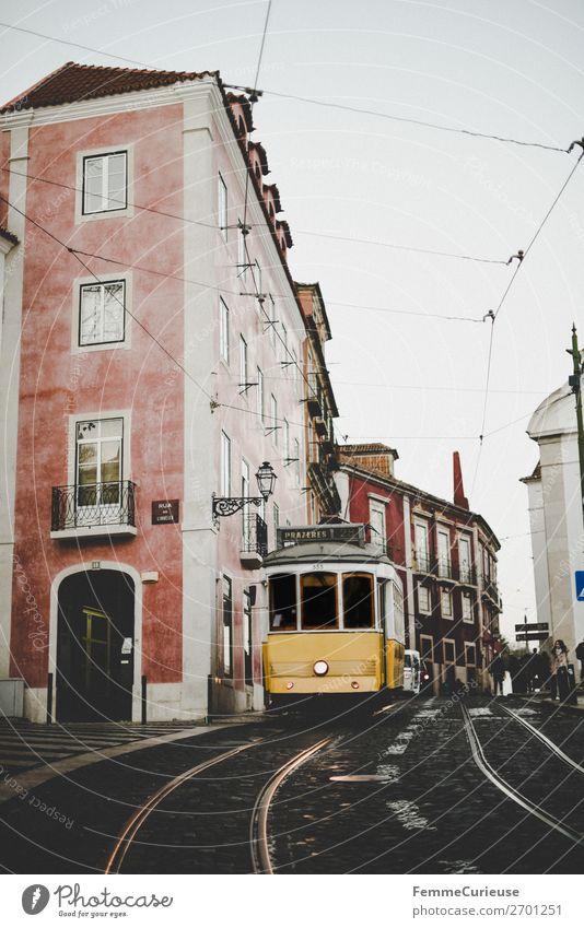 Carreira 28E dos Eléctricos de Lisboa Verkehr Verkehrsmittel Verkehrswege Personenverkehr Öffentlicher Personennahverkehr Straßenverkehr Bahnfahren