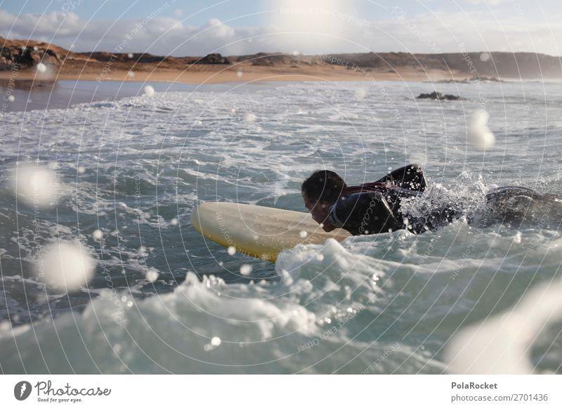 #AS# starting Mensch Wasser Meer Wellen ästhetisch Sommerurlaub Surfen Wassersport Surfer Wellengang Surfbrett Meerwasser Wellenform Extremsport Wellenlinie