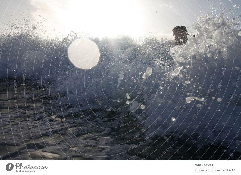 #AS# having second thoughts Mensch Wasser maskulin Wellen ästhetisch Aktion Surfen spritzen Gischt Wassersport Surfer Surfbrett Surfschule