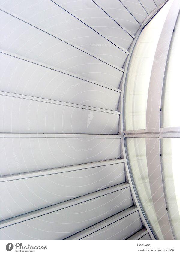 Treppe Architektur grau Gebäude hell Beleuchtung Beton Treppe