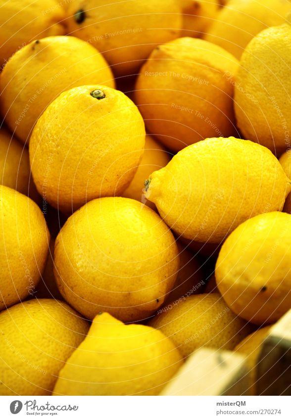 el limón. Gesunde Ernährung gelb Lebensmittel ästhetisch viele lecker Sammlung Vitamin Zitrone Auswahl sauer Frucht Gelbstich Vitamin C Saft