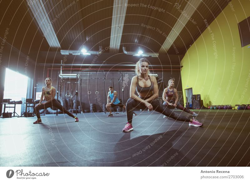 Frau Mann Erholung Lifestyle Erwachsene Sport Menschengruppe Aktion Tanzen Fitness reif Etage Bildschirm Club Disco anstrengen