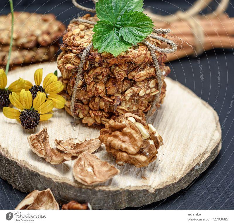weiß Blume Blatt schwarz Holz gelb natürlich braun Ernährung Tisch Energie lecker Küche Backwaren Süßwaren Kuchen