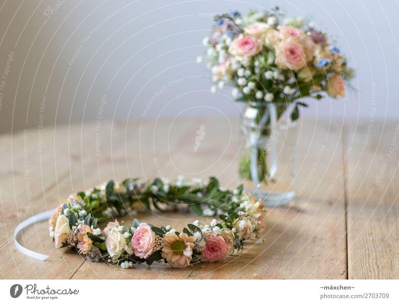 Brautstrauß I Pflanze Blume Gras Sträucher Blatt Blüte Blumenstrauß Schmuck Blumenkranz Kranz Duft schön natürlich blau mehrfarbig gelb grün orange rosa weiß