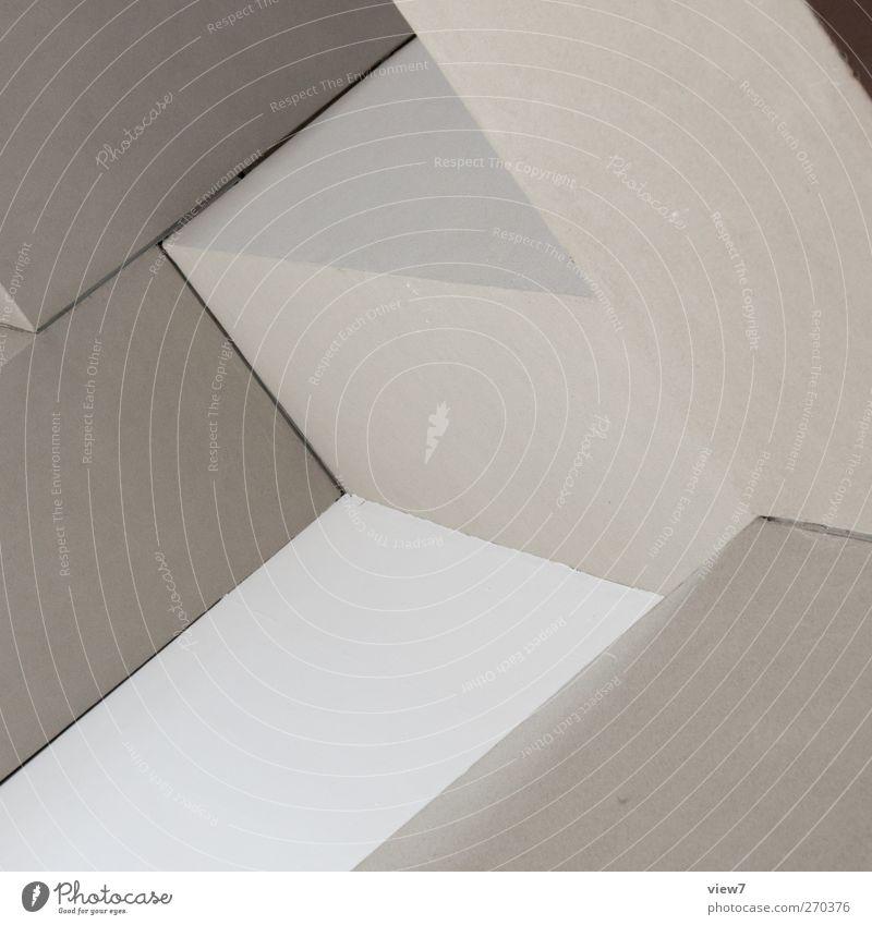 bausteine Farbe Haus Wand oben Architektur grau Stein Mauer Gebäude Linie Fassade elegant Ordnung groß Beginn Beton