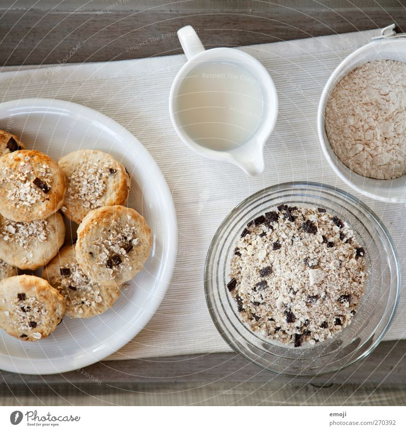 Scones Lebensmittel Teigwaren Backwaren Brot Brötchen Ernährung Frühstück Büffet Brunch Bioprodukte Vegetarische Ernährung Diät Slowfood Geschirr