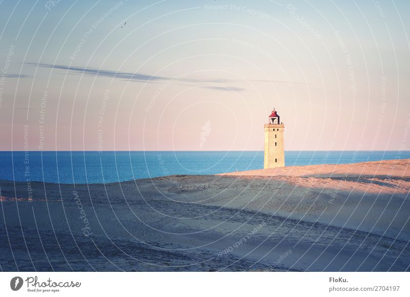 Rubjerg Knude - Leuchtturm in den Dünen Ferien & Urlaub & Reisen Tourismus Ausflug Abenteuer Ferne Sightseeing Strand Meer Umwelt Natur Landschaft Urelemente