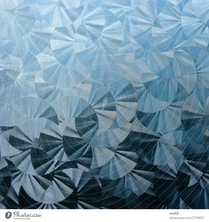 Drehwurm elegant Stil Kunst Kunstwerk Kunststoff Bewegung drehen Fröhlichkeit glänzend Unendlichkeit rund viele verrückt blau grau schwarz Design Facetten