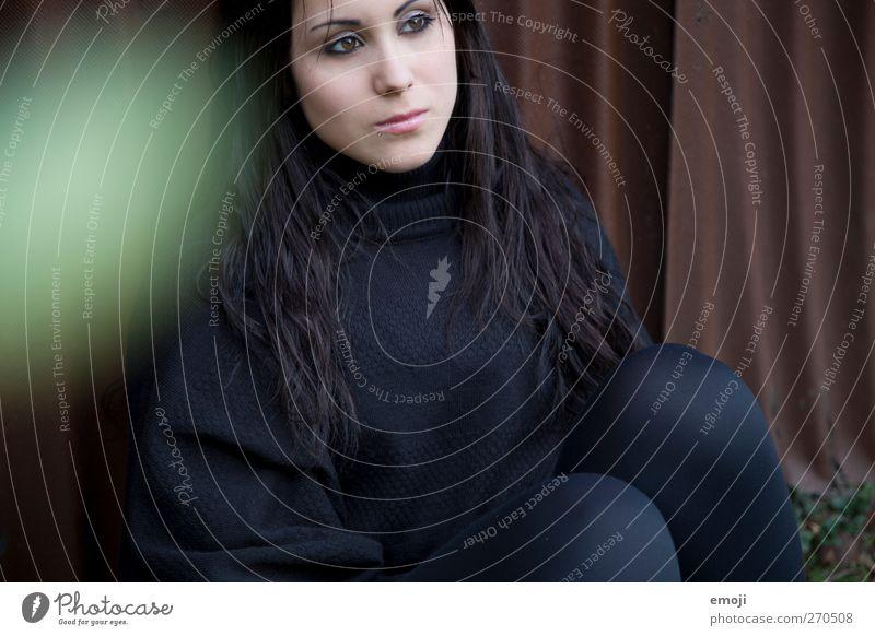 ins Bild Mensch Jugendliche schön Erwachsene feminin Junge Frau 18-30 Jahre langhaarig schwarzhaarig