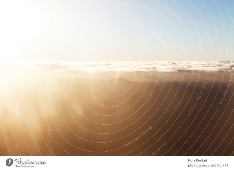 #AS# hoch hinaus Kunst ästhetisch Himmel Himmel (Jenseits) Berge u. Gebirge himmelwärts fliegen Luftverkehr Flugzeugfenster Ferne Aussicht Fensterblick