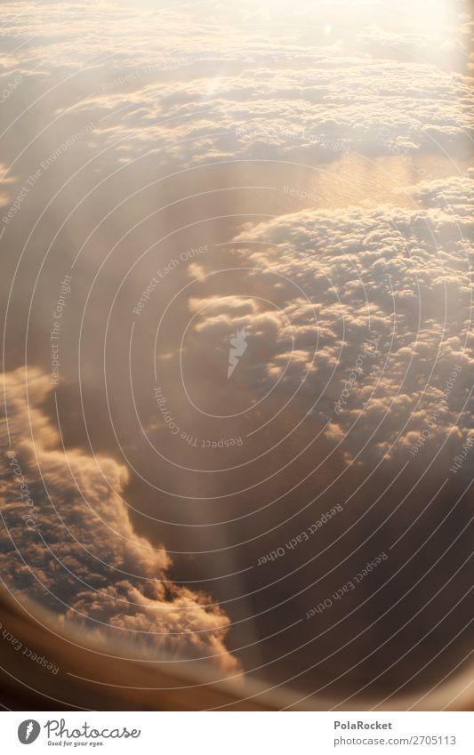 #AS# shiny sky Umwelt Natur Landschaft Klima Klimawandel Schönes Wetter ästhetisch fliegen Flugzeug Flugzeugausblick Flugzeugfenster Aussicht Fensterblick