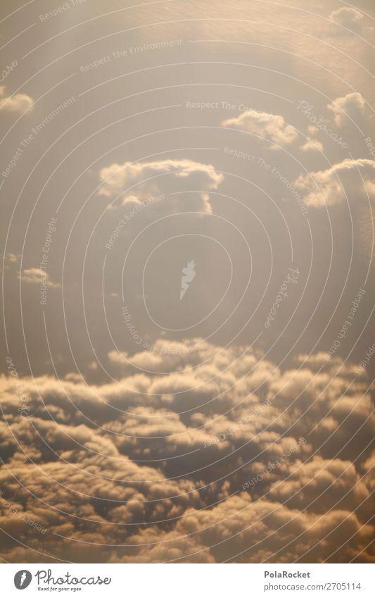 #AS# It's In The Cloud Natur Klima Klimawandel ästhetisch Wolken Wolkenhimmel Wolkendecke Wolkenformation Wolkenfeld Farbfoto Gedeckte Farben Außenaufnahme