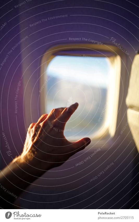 #AS# FensterSitz Freizeit & Hobby ästhetisch Autofenster Abteilfenster Flugzeugfenster Fensterscheibe Flugzeugausblick Flugzeugsitz Fensterplatz zeigen Fernweh