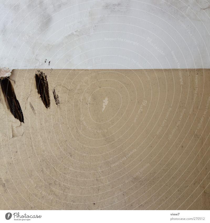 prost Renovieren Umzug (Wohnungswechsel) einrichten Innenarchitektur Mauer Wand Fassade Stein Beton Linie Streifen alt authentisch kaputt rebellisch trashig