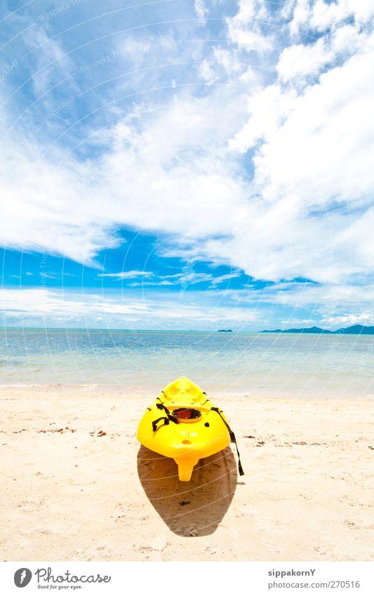 Natur Ferien & Urlaub & Reisen Sommer Meer Strand Wolken Erholung Landschaft Sport Sand Insel Tourismus Abenteuer Fitness genießen Sommerurlaub