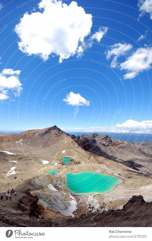 Vulkan Wasser Wasser Berge u. Gebirge Felsen Urelemente Schönes Wetter Unendlichkeit Dürre Vulkan