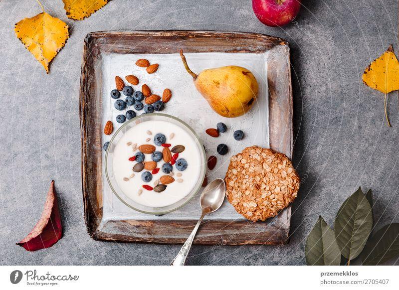Gesunde Ernährung Gesundheit Lebensmittel Essen Lifestyle natürlich Stein Frucht oben frisch Aussicht ästhetisch Tisch genießen authentisch