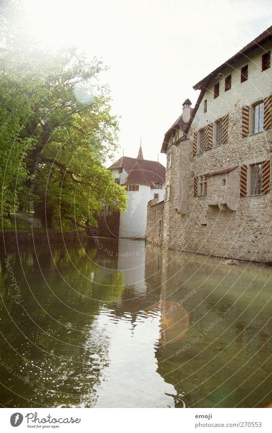 Schloss I Himmel Natur alt Wasser Sommer Umwelt Landschaft See Schönes Wetter Fluss Burg oder Schloss Teich Bach