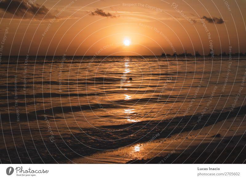 Bavaro Strände in Punta Cana, Dominikanische Republik Ferien & Urlaub & Reisen Tourismus Sommer Strand Meer Insel Umwelt Natur Sand Küste Fernweh amerika