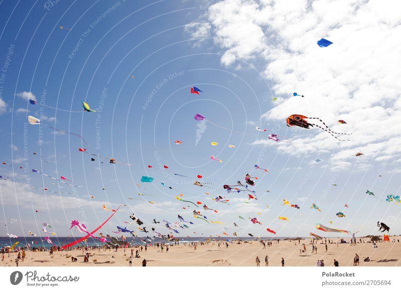 #AS# WindKraft Kunst ästhetisch viele Windkraftanlage Drache Lenkdrachen Hängegleiter Drachenfliegen Drachenfest