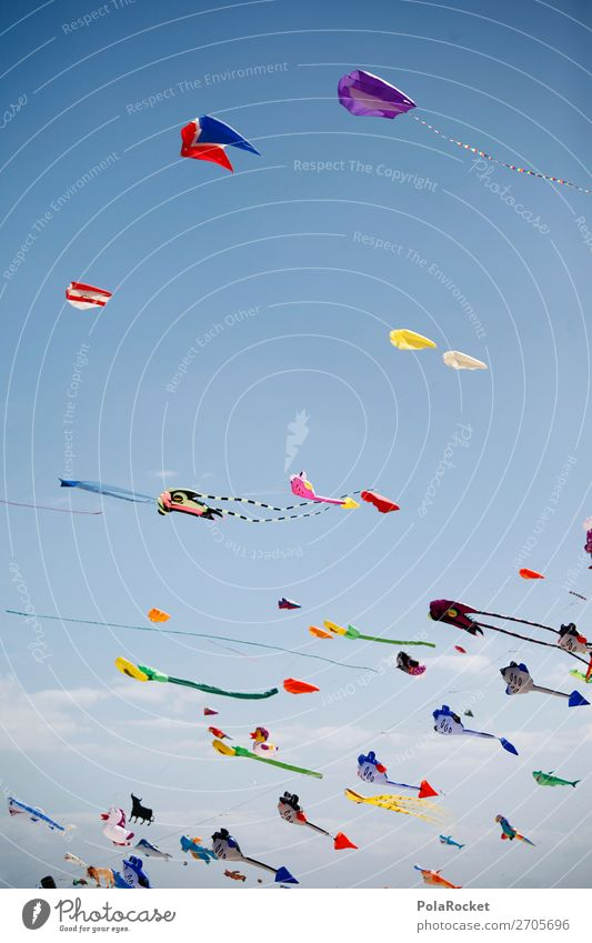 #AS# DrachenFest Lifestyle ästhetisch Wind Blauer Himmel Festspiele Musikfestival Lenkdrachen Drachenfliegen Drachenfest