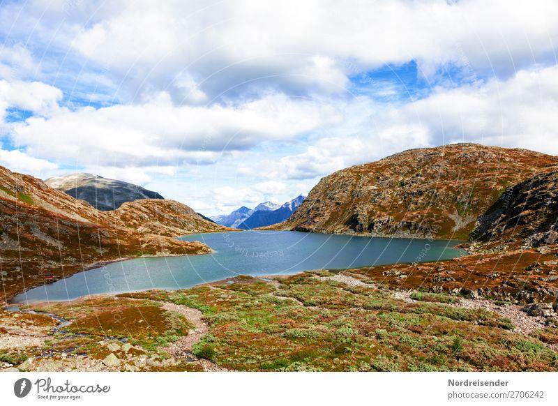 See des Mardalsfossen, Europas höchster Wasserfall Ferien & Urlaub & Reisen Tourismus Abenteuer Ferne Freiheit Camping Berge u. Gebirge wandern Natur Landschaft