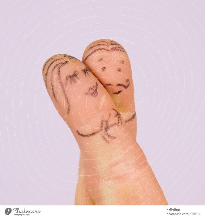 rumfingern Feste & Feiern Valentinstag Mensch maskulin feminin Frau Erwachsene Mann Paar Partner Leben Körper Haut Finger 2 18-30 Jahre Jugendliche Liebe schön