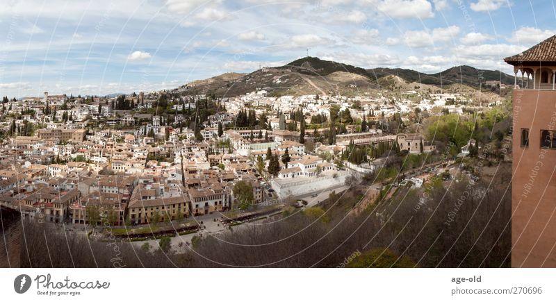 el albaicin Ferien & Urlaub & Reisen Städtereise Landschaft Granada Spanien Stadt Altstadt beobachten genießen Blick Bekanntheit historisch Stimmung authentisch