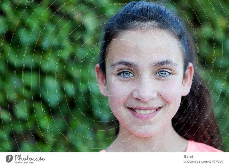 Frau Kind Mensch Jugendliche Sommer Farbe schön Baum ruhig Freude Gesicht Lifestyle Erwachsene Glück Stil Mode