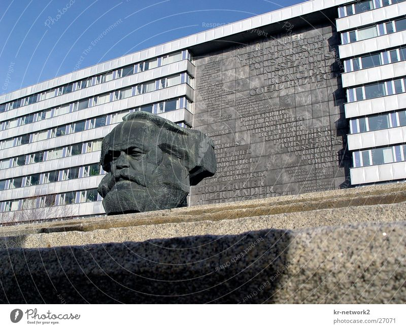 Mr-Marx historisch DDR Nostalgie Sachsen Zone Chemnitz