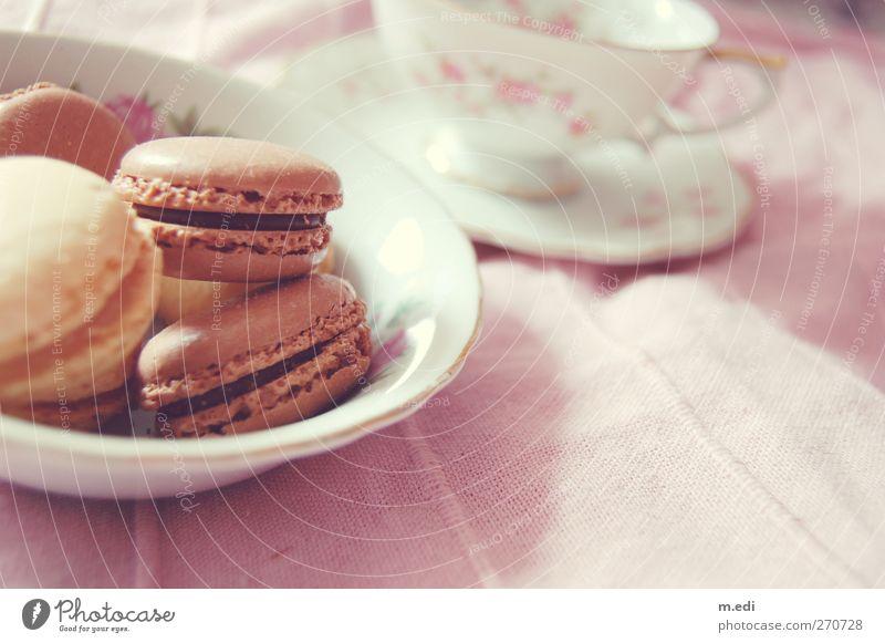 macaron love Lebensmittel Teigwaren Backwaren Kuchen Dessert Süßwaren Macarons Feste & Feiern Kitsch Farbfoto Innenaufnahme Tag