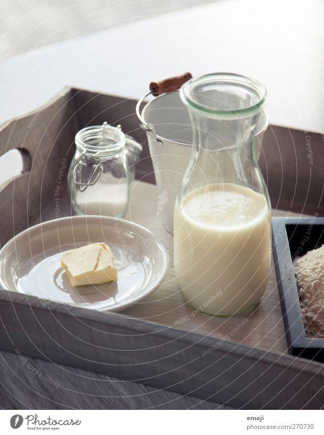 Znacht Ernährung Lebensmittel hell Kochen & Garen & Backen Geschirr Frühstück Teller Schalen & Schüsseln Milch Büffet Brunch Zutaten Butter