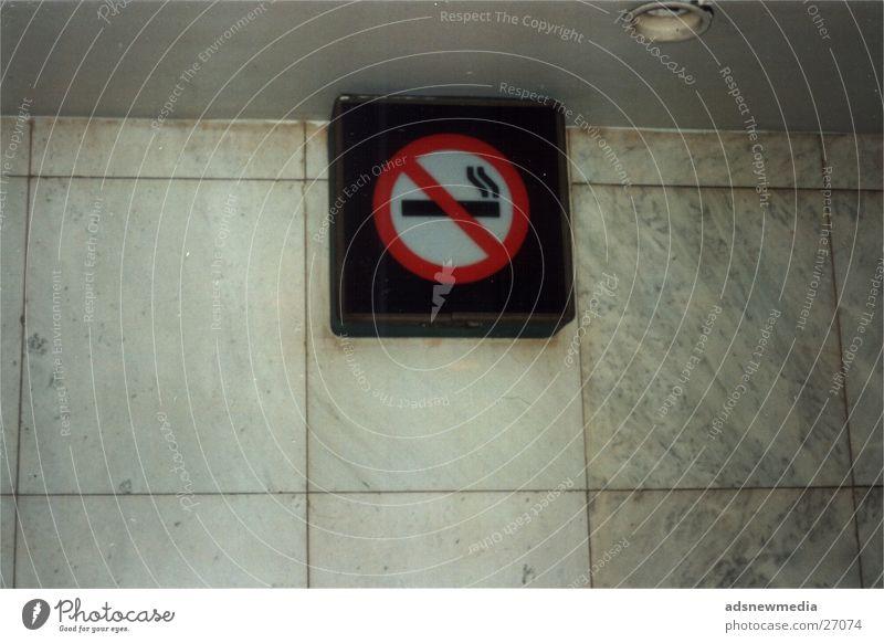No Smoking Schilder & Markierungen Industrie Rauchen Verbote
