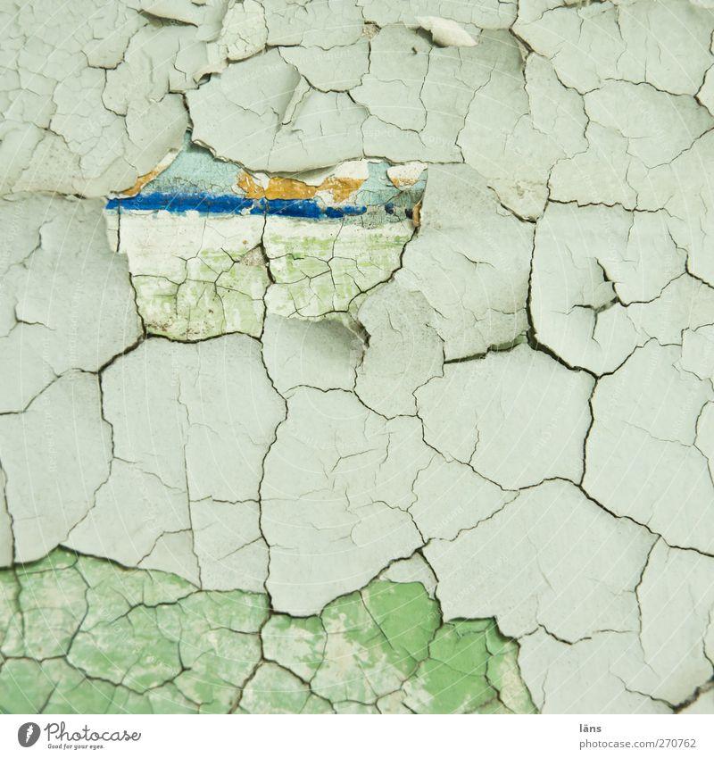 AST5 | vielschichtigkeit Gebäude Mauer Wand Fassade alt Vergänglichkeit Wandel & Veränderung Farbstoff Putz Putzfassade abblättern Riss Farbfoto Innenaufnahme