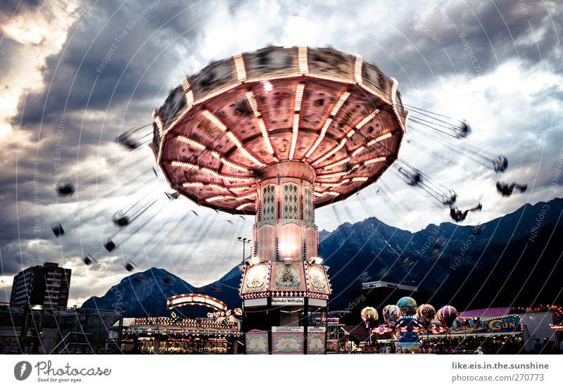das orchester spielt bis zum schluss II Sommer Freude Wolken Berge u. Gebirge Leben Spielen Zufriedenheit Angst Freizeit & Hobby Geschwindigkeit Fröhlichkeit