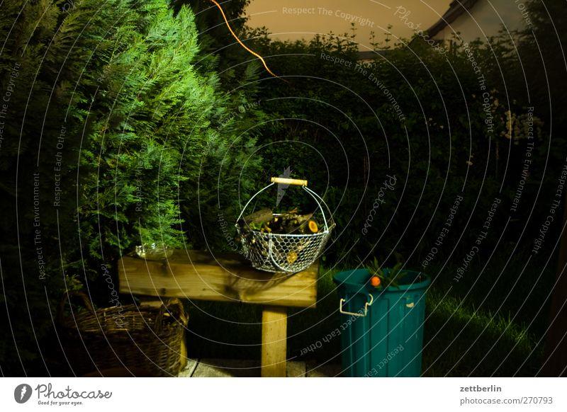 Abends im Gärtchen Natur Sommer Umwelt Landschaft Garten Park Wetter Wohnung Klima Häusliches Leben gut Ecke Schönes Wetter Bank Unwetter Gewitter